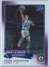 John Stockton Panini Donruss Optic Basketball 2017-18 Retro Series