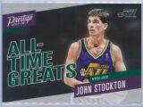John Stockton Panini Prestige 2017-18 All Time Greats
