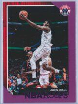 John Wall Panini NBA Hoops 2018-19  Purple