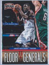 Jrue Holiday Panini Threads 2012-13 Flour Generals