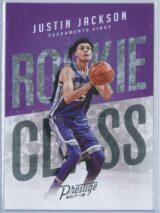 Justin Jackson Panini Prestige 2017-18 Rookie Class