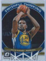 Kevin Durant Panini Donruss Optic Basketball 2017-18 Swishful Thinking