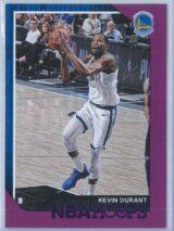 Kevin Durant Panini NBA Hoops 2018-19  Purple