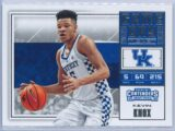 Kevin Knox Panini Contenders Draft Picks 2018-19 Game Day Ticket