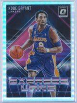 Kobe Bryant Panini Donruss Optic Basketball 2018-19 Express Lane Holo