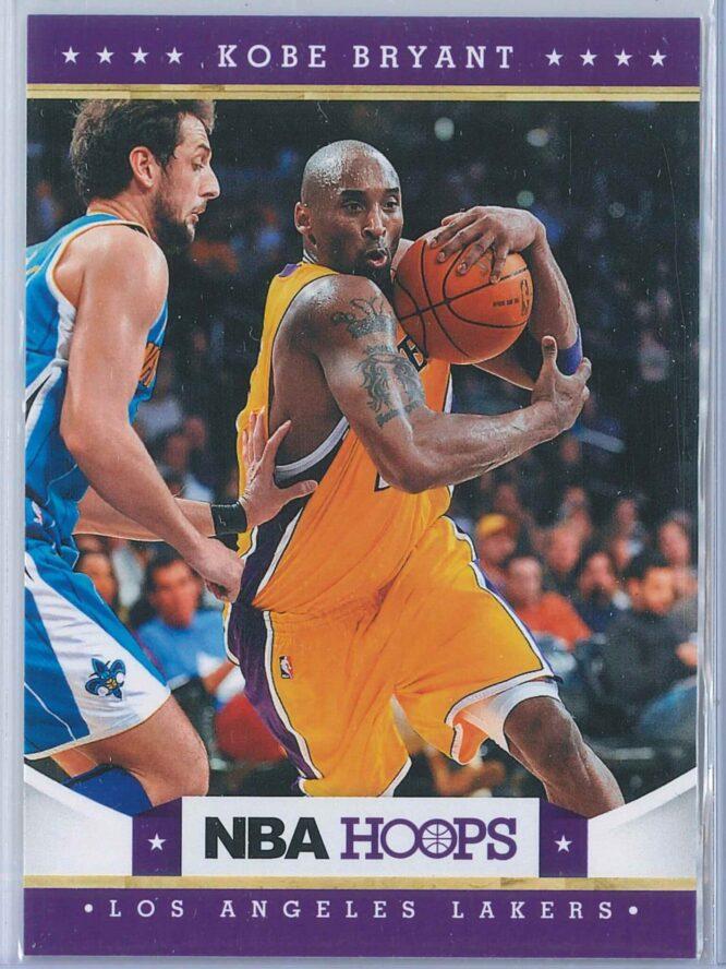 Kobe Bryant Panini NBA Hoops 2012-13