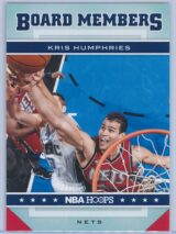 Kris Humphries Panini NBA Hoops 2012-13 Board Members
