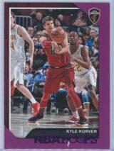 Kyle Korver Panini NBA Hoops 2018-19  Purple