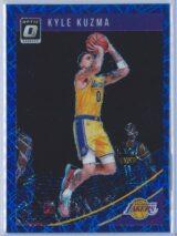 Kyle Kuzma Panini Donruss Optic Basketball 2018-19  Blue Velocity Prizm