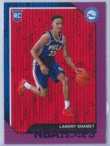 Landry Shamet Panini NBA Hoops 2018-19  Purple  RC