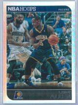 Lavoy Allen Panini NBA Hoops 2014 15 Silver 045399 1