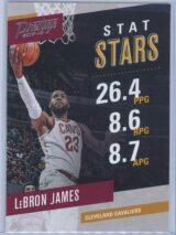 Lebron James Panini Prestige 2017-18 Stat Stars