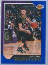 Lonzo Ball Panini NBA Hoops 2018-19  Blue