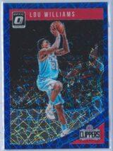 Lou Williams Panini Donruss Optic Basketball 2018-19  Blue Velocity Prizm