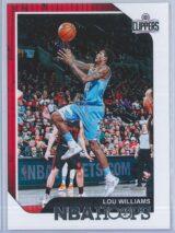 Lou Williams Panini NBA Hoops 2018-19  Red Back