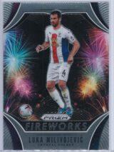 Luka Milivojevic Panini Prizm Premier League 2020-21 Fireworks