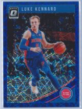 Luke Kennard Panini Donruss Optic Basketball 2018-19  Blue Velocity Prizm