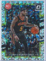 Malcolm Delaney Panini Donruss Optic Basketball 2017-18  Fast Break Holo Prizm
