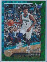 Malik Monk Panini NBA Hoops 2018 19 Green 2599 1