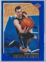 Mario Hezonja Panini NBA Hoops 2018-19  Blue
