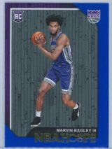Marvin Bagley III Panini NBA Hoops 2018-19  Blue  RC