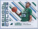 Melvin Frazier Panini Contenders Draft Picks 2018-19 School Colors