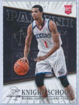 Michael Carter Williams Panini Panini Basketball 2013-14 Knight School   RC