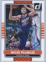 Miles Plumlee Panini Donruss Basketball 2014-15  Press Proof Purple 128199