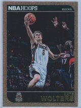 Nate Wolters Panini NBA Hoops 2014-15  Gold