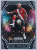 Nathan Redmond Panini Prizm Premier League 2020-21 Fireworks