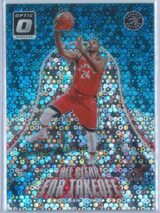 Normal Powell Panini Donruss Optic Basketball 2017-18 All Clear For Takeoff Fast Break Holo