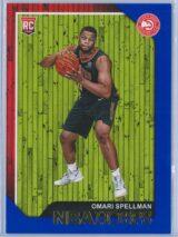 Omari Spellman Panini NBA Hoops 2018-19  Blue  RC