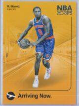 RJ Barrett Panini NBA Hoops 2019-20 Arriving Now