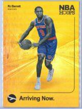 RJ Barrett Panini NBA Hoops 2019-20 Arriving Now Holo