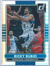 Ricky Rubio Panini Donruss Basketball 2014-15  Golden Career Stat Line 024101