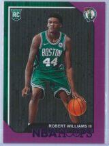 Robert Williams III Panini NBA Hoops 2018-19  Purple  RC