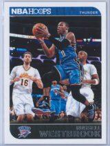 Russell Westbrook Panini NBA Hoops 2014-15  Red Back