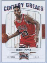 Scottie Pippen Panini Threads 2012-13 Century Greats
