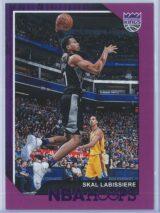 Skal Labissiere Panini NBA Hoops 2018-19  Purple