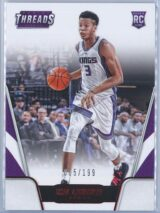 Skal Labissiere Panini Threads 2016 17 Red 005199 RC 1