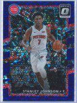 Stanley Johnson Panini Donruss Optic Basketball 2017-18  Fast Break Purple Prizm 068155