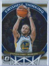 Stephen Curry Panini Donruss Optic Basketball 2017-18 Swishful Thinking