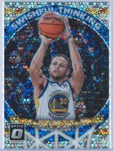 Stephen Curry Panini Donruss Optic Basketball 2017-18 Swishful Thinking Fast Break Holo
