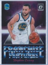 Stephen Curry Panini Donruss Optic Basketball 2018-19 Franchise Features