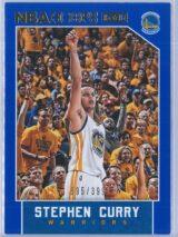 Stephen Curry Panini NBA Hoops 2015-16  Blue 395399