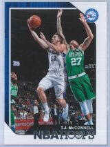 T.J. McConnell Panini NBA Hoops 2018-19  Red Back