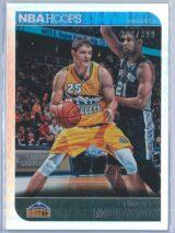 Timofey Mozgov Panini NBA Hoops 2014 15 Silver 323399 1