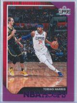 Tobias Harris Panini NBA Hoops 2018-19  Purple
