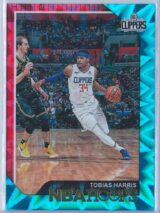 Tobias Harris Panini NBA Hoops 2018-19  Teal Explosion