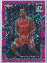 Trevor Ariza Panini Donruss Optic Basketball 2017-18  Pink Velocity Prizm 5679